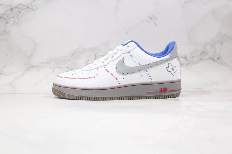 耐克Nike Air Force 1 Low纯原版本低帮空军一号灰白蓝色板鞋原鞋开模打造 货号:DH0902-108