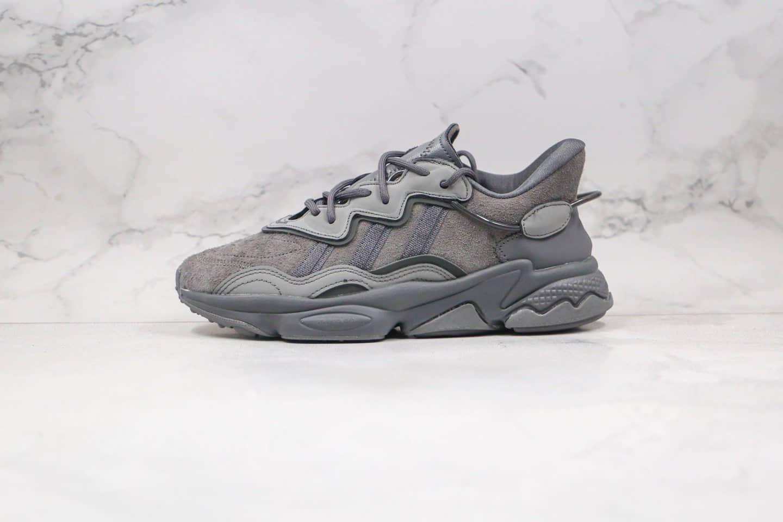 阿迪达斯adidas Originals Ozweego公司级版本简版椰子水管老爹鞋深灰色原纸版开发 货号:EG0547