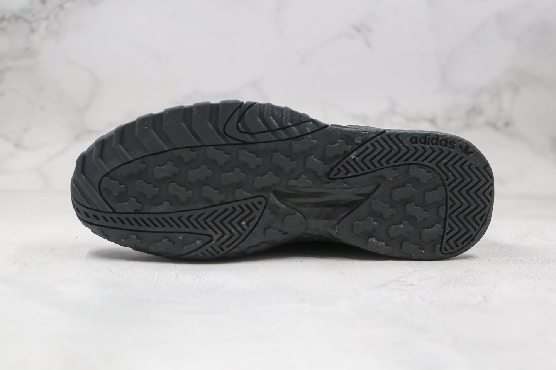阿迪达斯adidas Originals Streetball Low纯原版本复古街球系列跑鞋黑色原鞋开发 货号:FW1218