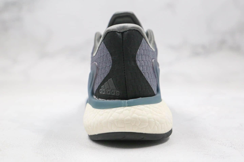 阿迪达斯adidas AlphaBounce FIT纯原版本阿尔法11代跑鞋灰蓝色原盒市售最高版本 货号:CG3812