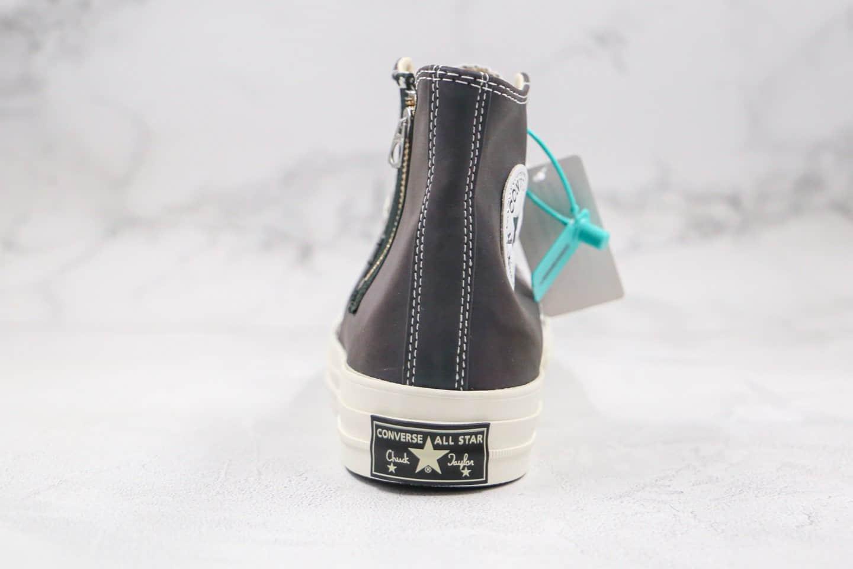 匡威Converse Chuck Taylor 1970s HI DEMON公司级版本高帮夜魔侠变色龙拉链硫化板鞋原鞋开模一比一打造