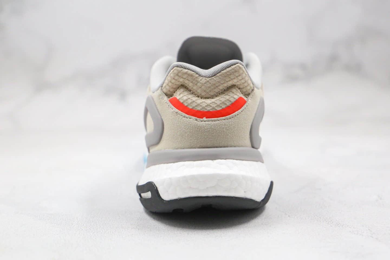 阿迪达斯 Adidas Originals 2020 Day Jogger Boost 2020纯原版本夜行者二代爆米花跑鞋米白灰色原鞋开模一比一打造 货号:FW4826