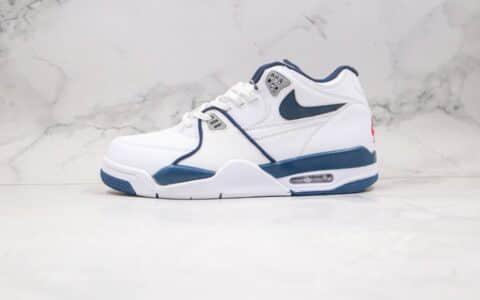 耐克Nike Air Flight 89纯原版本星际篮球鞋主题星空白蓝色内置气垫原盒原标 货号:CN5668-101