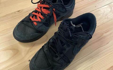OW x Nike Dunk Low新联名实物曝光!明年秋季登场!