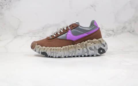 耐克Nike ISPA OverReact纯原版本瑞亚机能ISPA老爹鞋粽紫色原档案数据开发原盒原标 货号:CQ2230-005