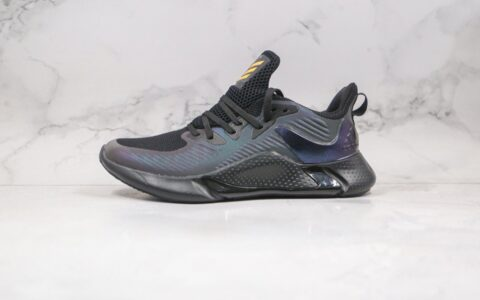 阿迪达斯Adidas Alphabounce deae 2.0纯原版本阿尔法10代变色龙跑鞋原厂科技原档案数据开发 货号:EG6084