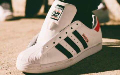 这双贝壳头不得了!Run DMC x adidas Superstar即将发售! 货号:FX7616