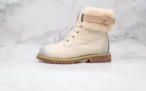 UGG马丁靴2021系列新款复古白色纯原版本原档案数据开发正确鞋面材质内里材质