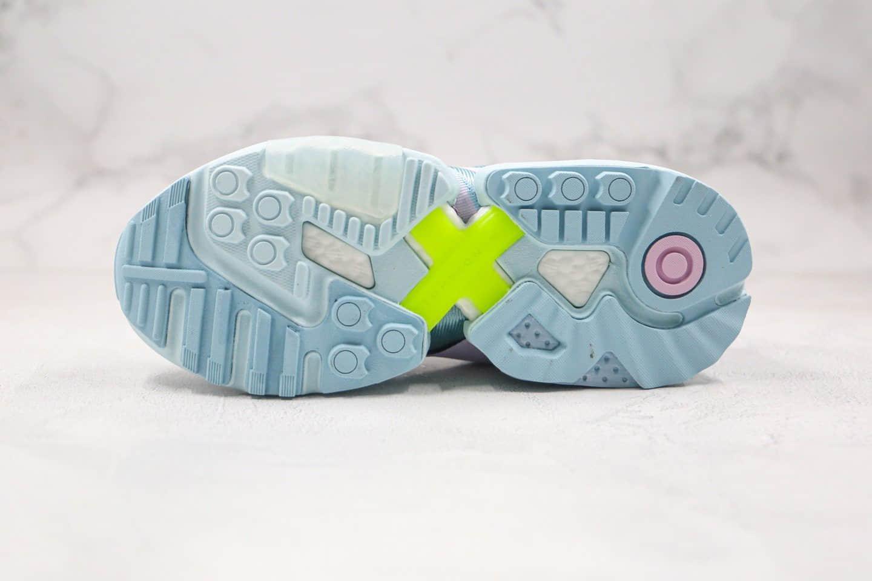 阿迪达斯Adidas ZX Torsion纯原版本爆米花跑鞋ZX扭转系列蓝色原楦头纸板打造 货号:EF4373