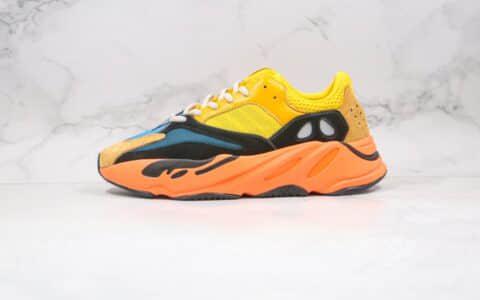 阿迪达斯Adidas YEEZY 700纯原版本复古椰子700老爹鞋黄橙色内置巴斯夫爆米花大底缓震 货号:FW2496