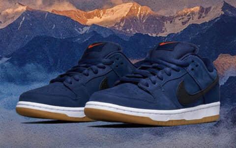 午夜海军蓝装扮!Nike SB Dunk新配色下月登场! 货号:CW7463-401