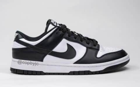 经典黑白熊猫主题!全新Nike Dunk Low实物图曝光!