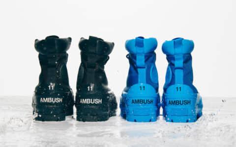 硬朗军靴+毛绒板鞋!Ambush x Converse新联名即将登场!