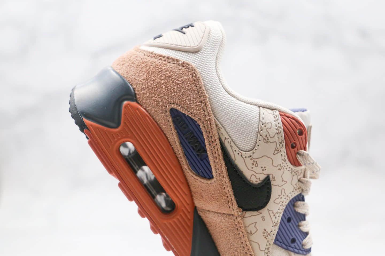 耐克Nike Air Max 90 NRG纯原版本落基山脉棕色Max90半掌气垫跑鞋内置真气垫原盒原标 货号:CI5646-001