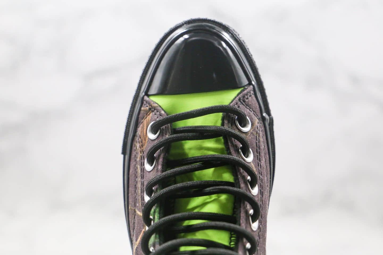 匡威Converse Gore-Tex公司级版本高帮张艺兴同款机能枫叶硫化板鞋原盒原标原鞋开模打造