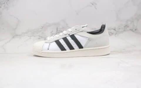 阿迪达斯Adidas Original Superstar WS2纯原版本贝壳头解构白灰黑色板鞋原档案数据开发 货号:FV3024