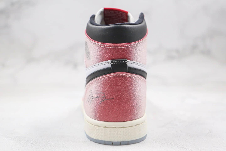 乔丹Air Jordan 1 Chicago纯原版本高帮AJ1芝加哥水晶底红白色原盒原标原档案数据开发 货号:DA2728-100
