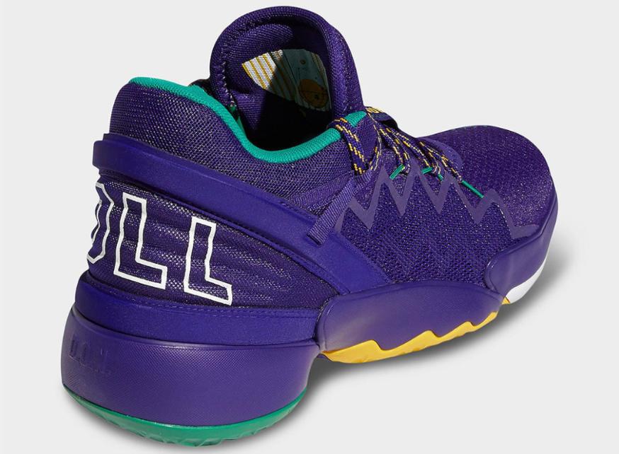 灵感源自犹他爵士队!米切尔二代战靴adidas D.O.N. ISSUE 2全新配色现已发售! 货号:FV8959