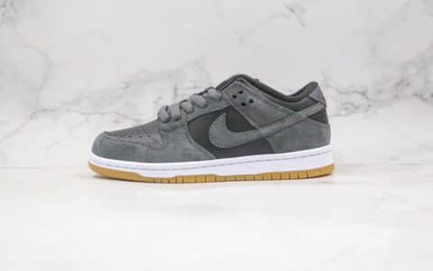 耐克Nike SB Dunk Low TRD纯原版本低帮SB DUNK生胶底雾霾灰板鞋内置后跟Zoom气垫 货号:AR0778-001