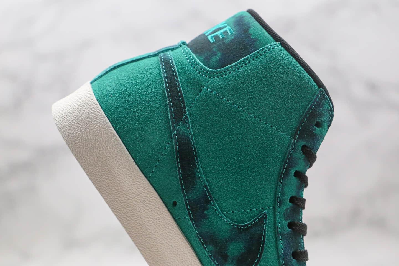 耐克Nike Blazer Mid Retro OG纯原版本中帮开拓者磨砂3D板鞋原厂硫化大底原盒原标 货号:DA7575-991