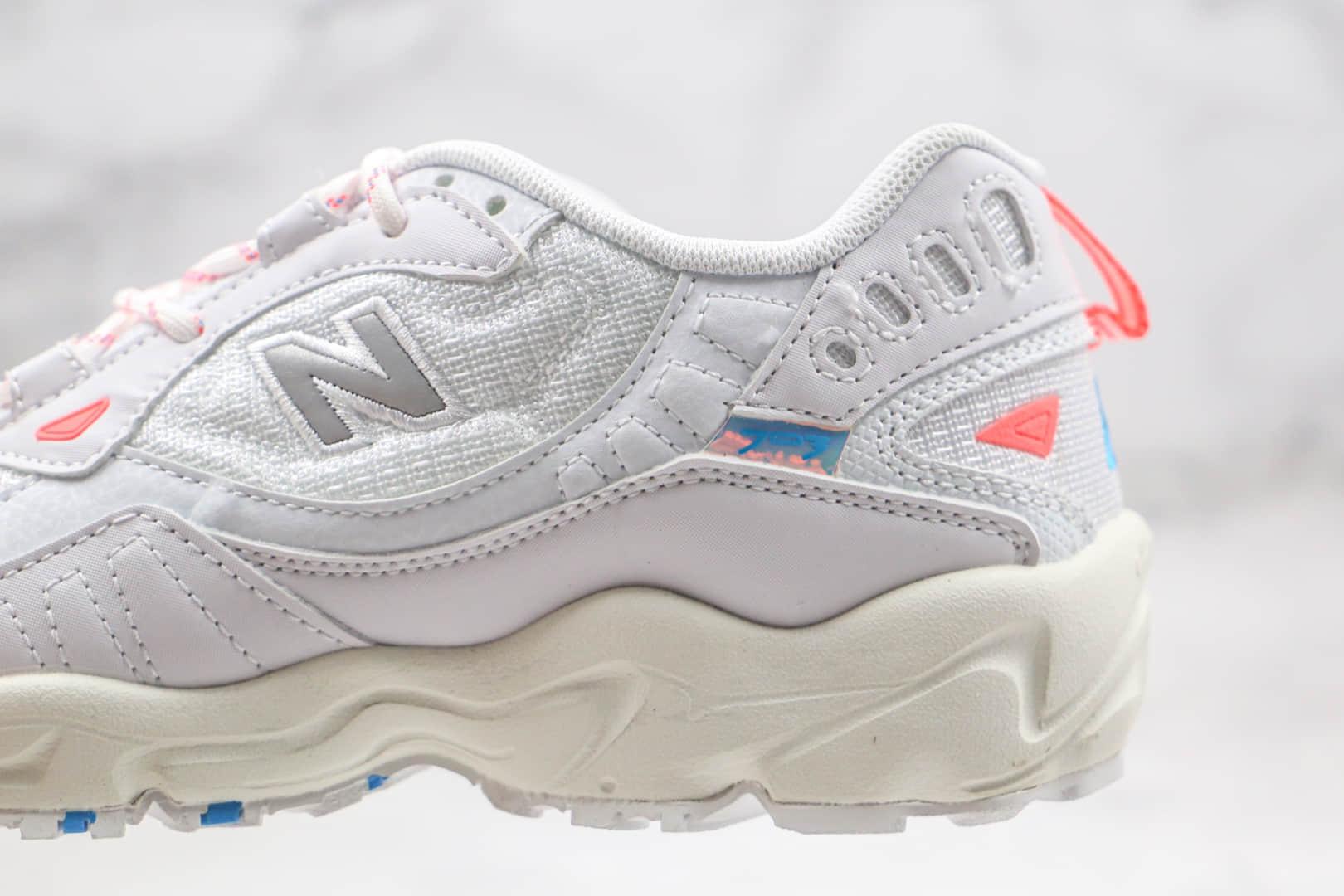 新百伦New Balance 703纯原版本复古越野跑鞋NB703白蓝色原档案数据开发原盒原标 货号:WL703BC