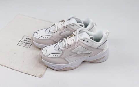 耐克Nike M2K Tekno纯原版本复古老爹鞋M2K白灰色原盒原标原档案数据开发 货号:AO3108-006