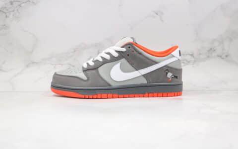 耐克Nike SB Dunk New York纯原版本低帮SB DUNK纽约城市限定灰色和平鸽板鞋内置后跟Zoom气垫 货号:304292-011