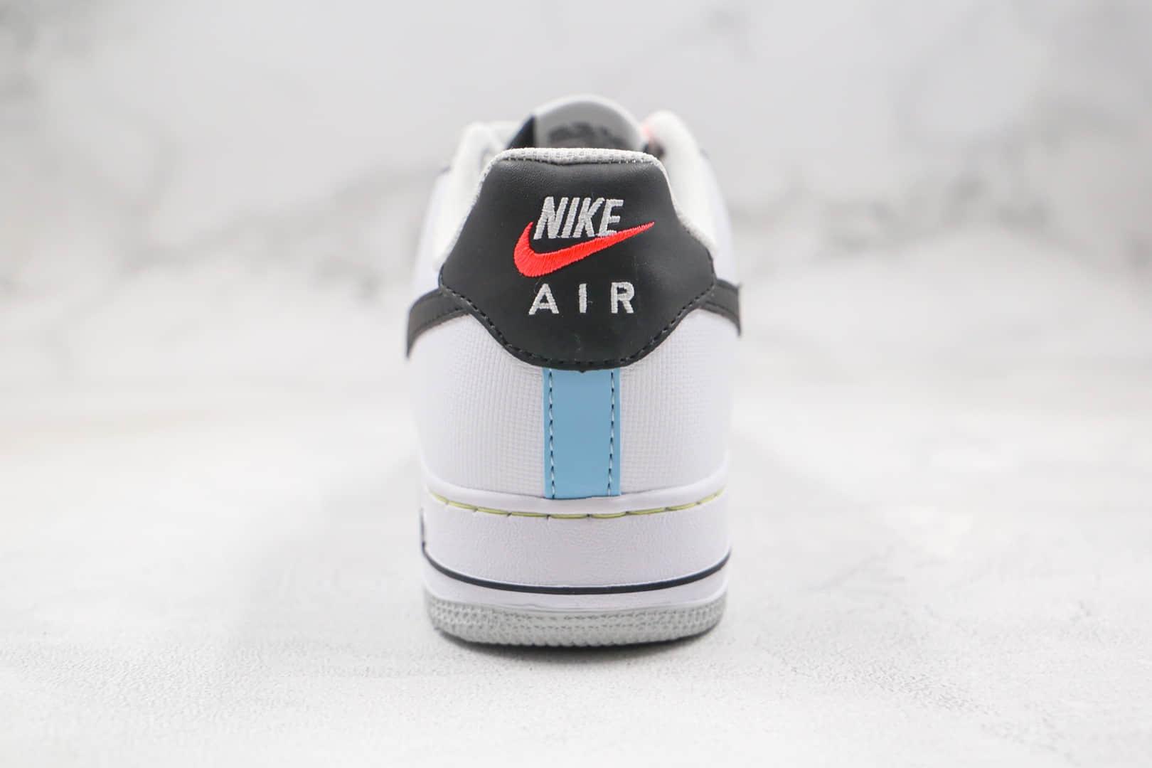 耐克Nike Air Force 1 low 2021纯原版本低帮空军一号解构粉色小勾大黑勾板鞋原档案数据开发 货号:DC2532-100
