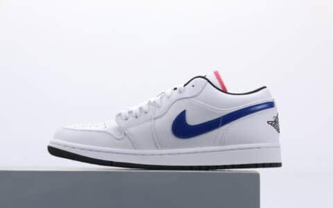 乔丹Air Jordan 1 LOW wz纯原版本低帮AJ1四色鸳鸯彩勾板鞋原鞋开模一比一打造 货号:CW7009-100