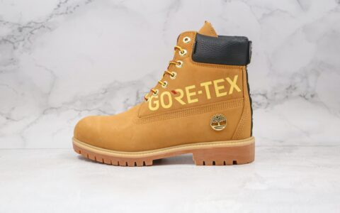 天伯伦Timberland x GORE TXE字母联名款纯原版本防水大黄靴原档案数据开发原盒原标