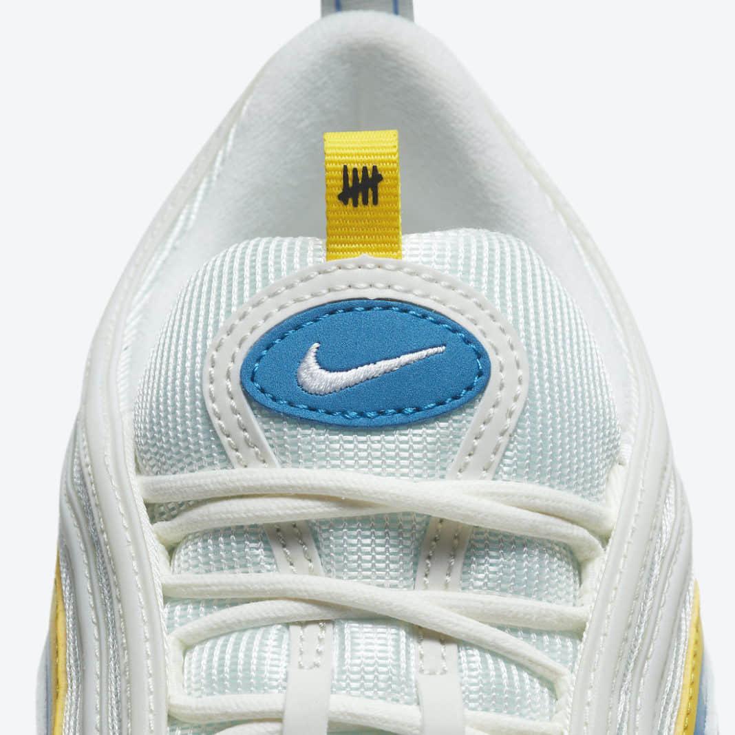UNDFTD x Nike Air Max 97新配色官图释出!清新十足! 货号:DC4830-100