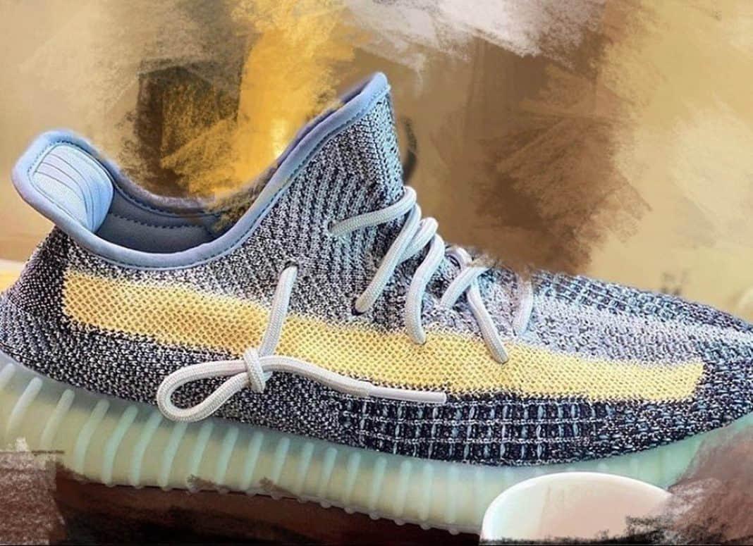 """Adidas Yeezy 350 V2""""Ash Blue""""实物图释出!明年2月登场!"""