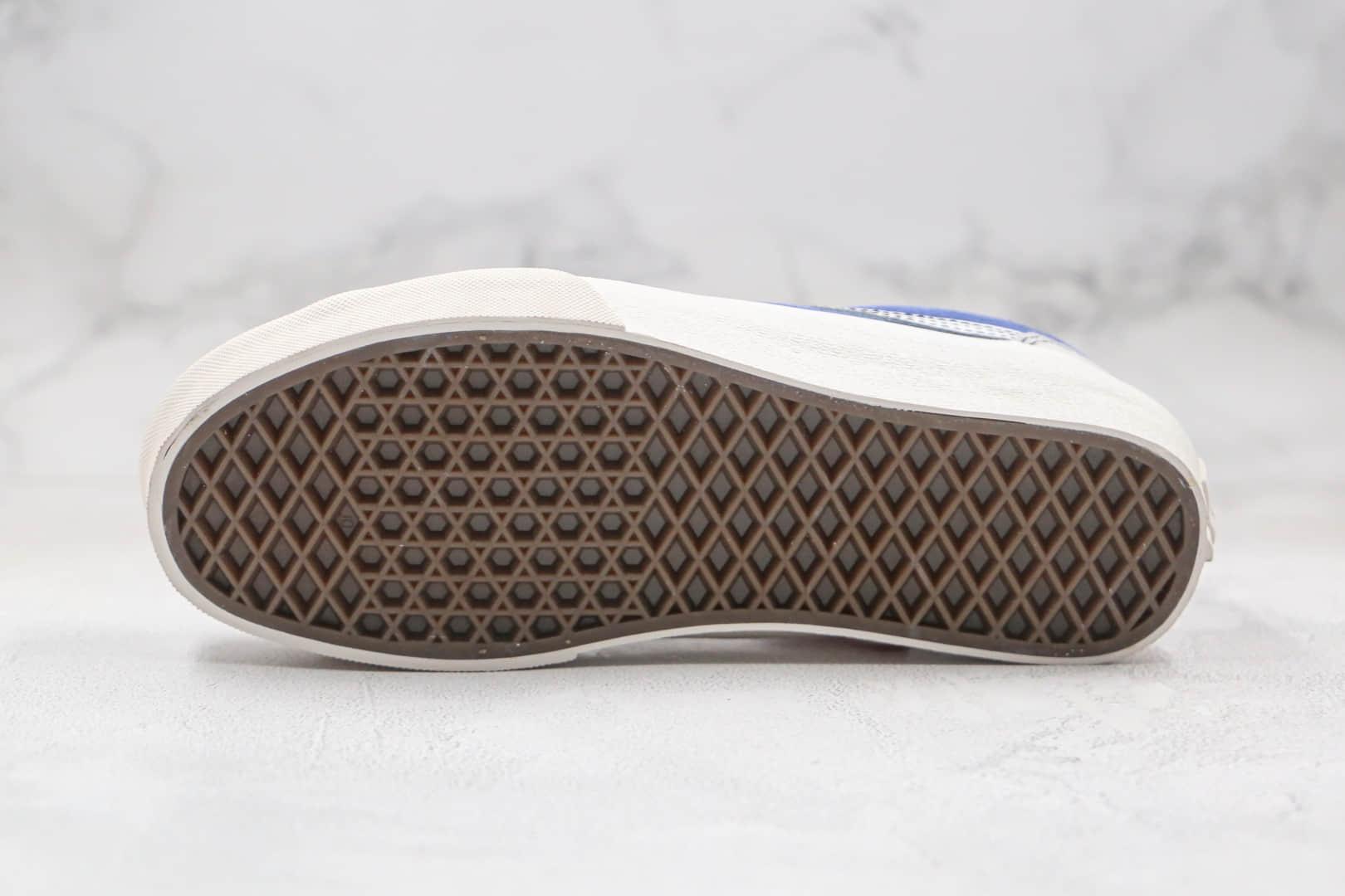 万斯Vans Vault 2020 Style 36 VLT LX Better Gift Shop公司级版本低帮灰蓝麂皮硫化板鞋原盒原标原楦头纸板打造