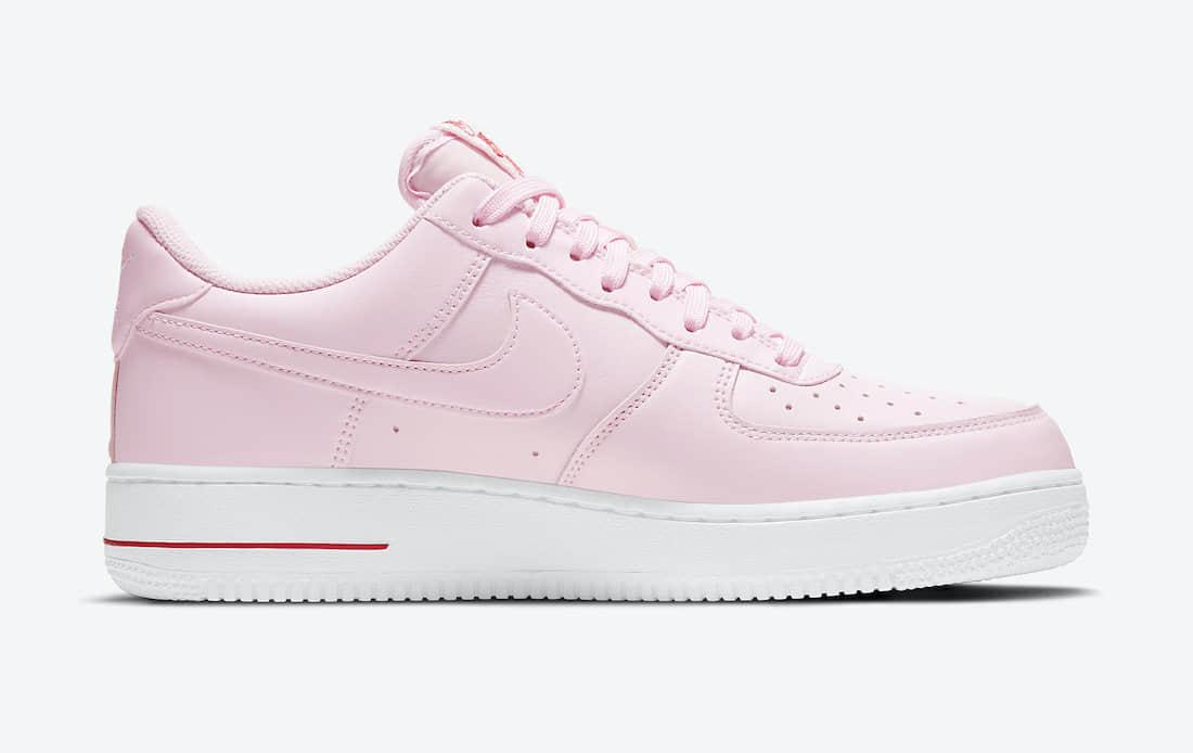 两双全新Nike AF1官图释出!你选白玫瑰还是粉玫瑰?