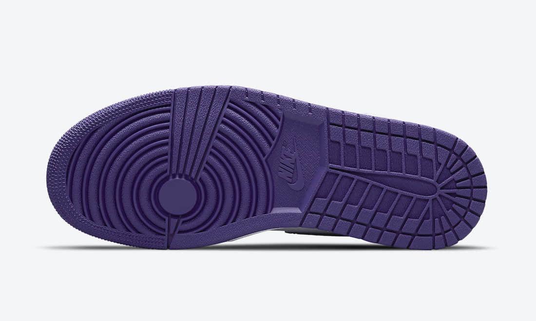 全新白紫AJ1官图释出!6月3日登场! 货号:CD0461-151