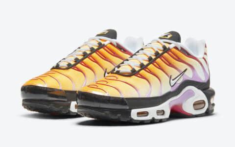 活力夏日氛围!Nike复古跑鞋Air Max Plus全新配色即将发售! 货号:CZ1651-800