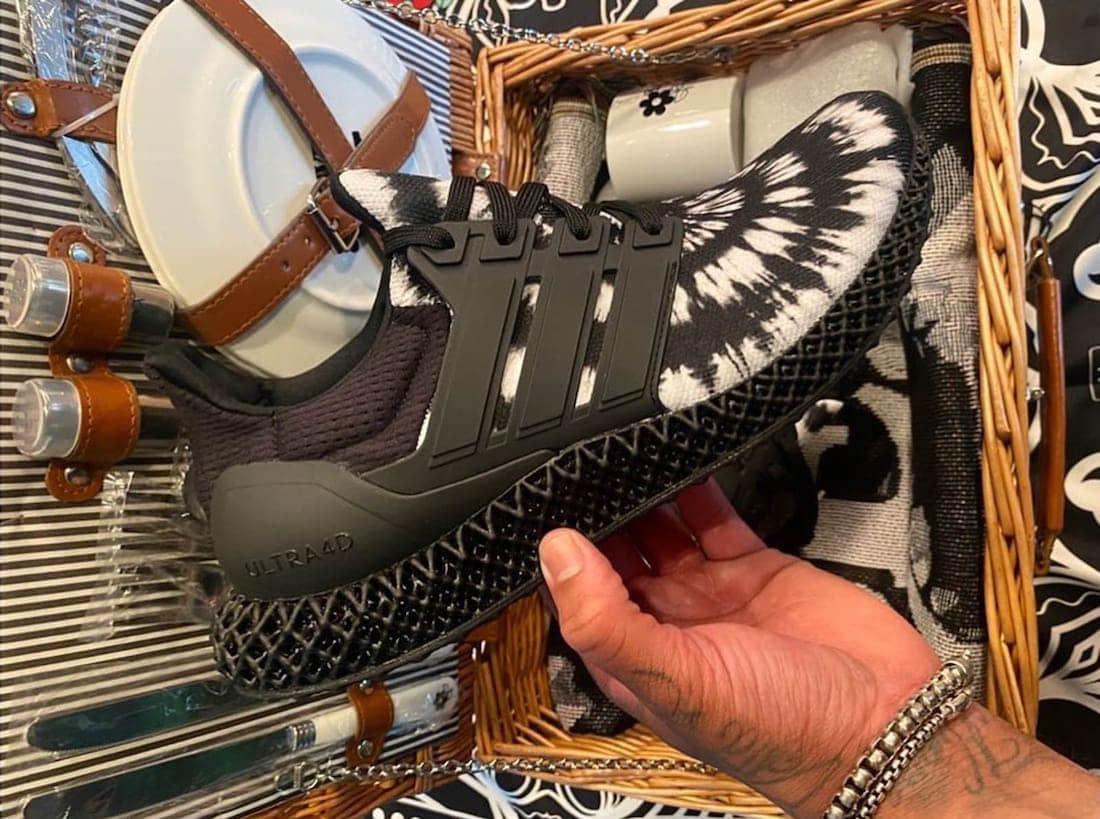 黑白扎染!全新Nice Kicks x adidas Ultra 4D惊艳亮相!鞋盒居然是野餐篮!