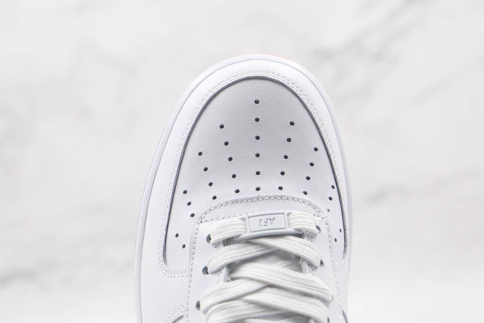 耐克Nike Air Force 1 HO20 BG纯原版本低帮空军一号白色波点石头纹板鞋原楦头纸板打造 货号:DH2473-001