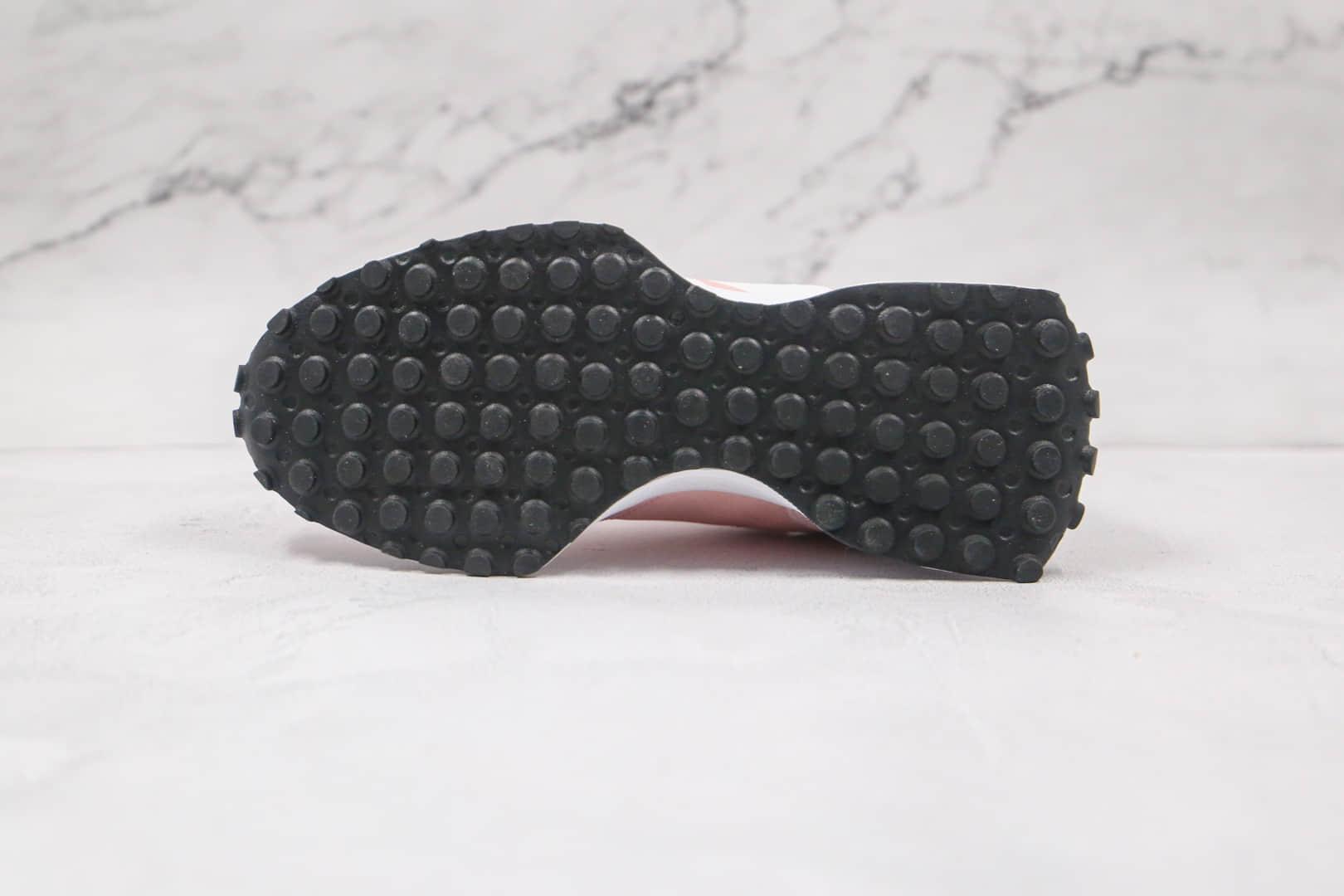 新百伦New Balance 327纯原版本复古慢跑鞋NB327粉白色原盒原标原档案数据开发 货号:MS327CKC