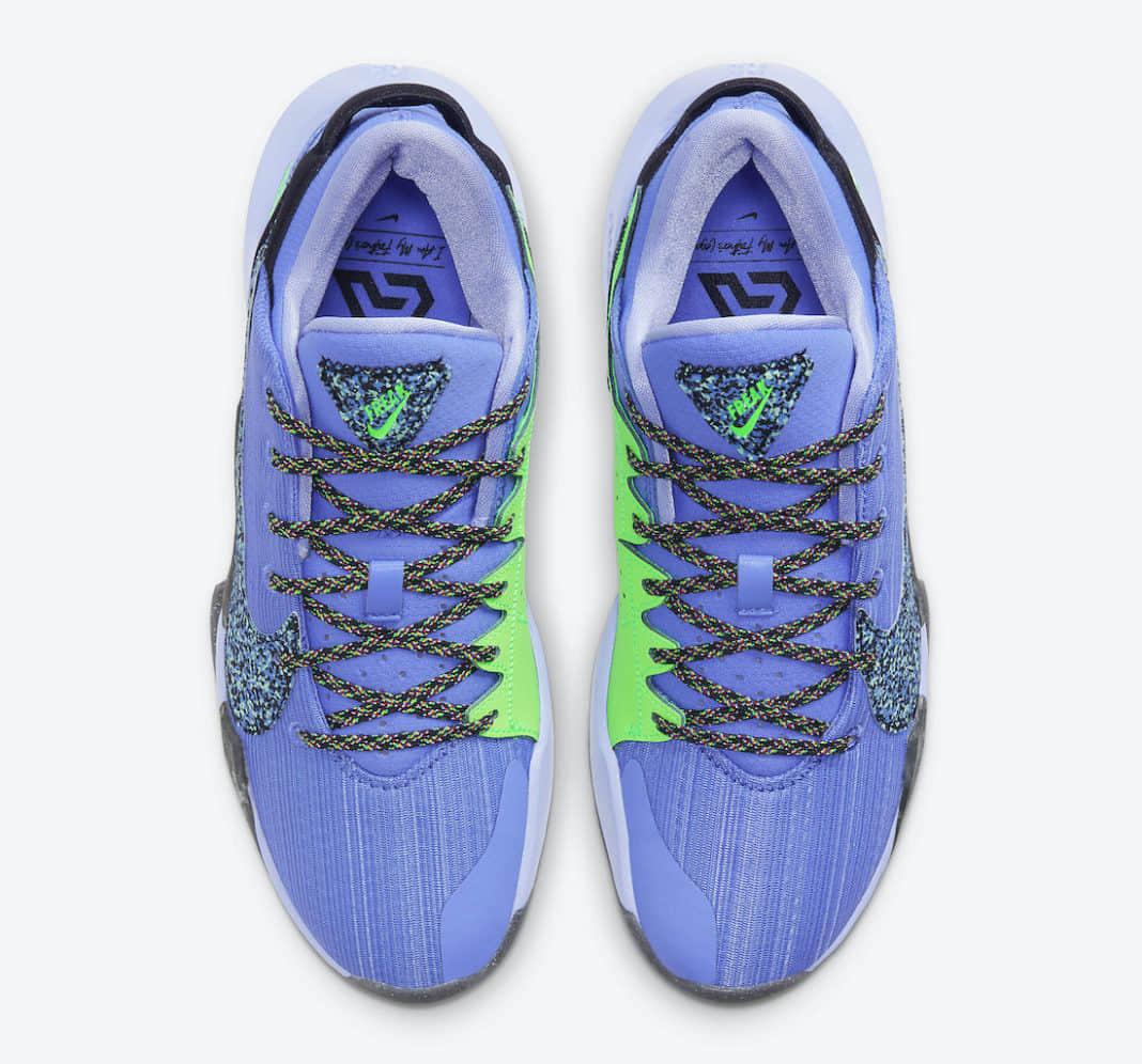 字母哥二代战靴Nike Zoom Freak 2新配色曝光!侧身Swoosh亮了! 货号:CK5424-500