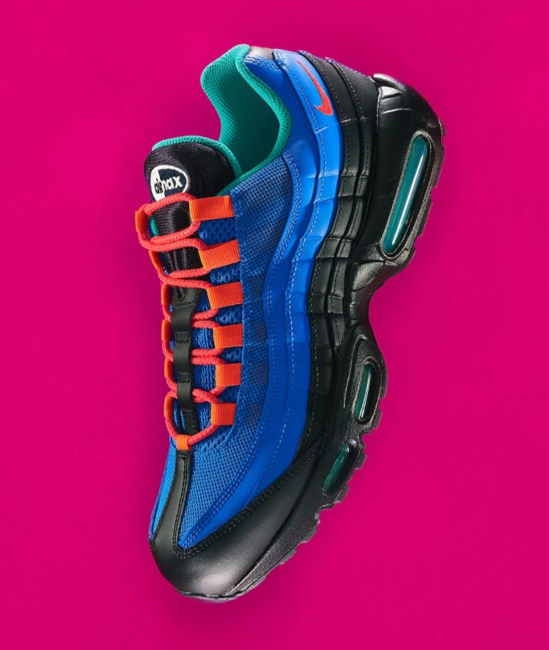 构色抢眼!全新Coral Studio x Nike Air Max 95 V2联名曝光!