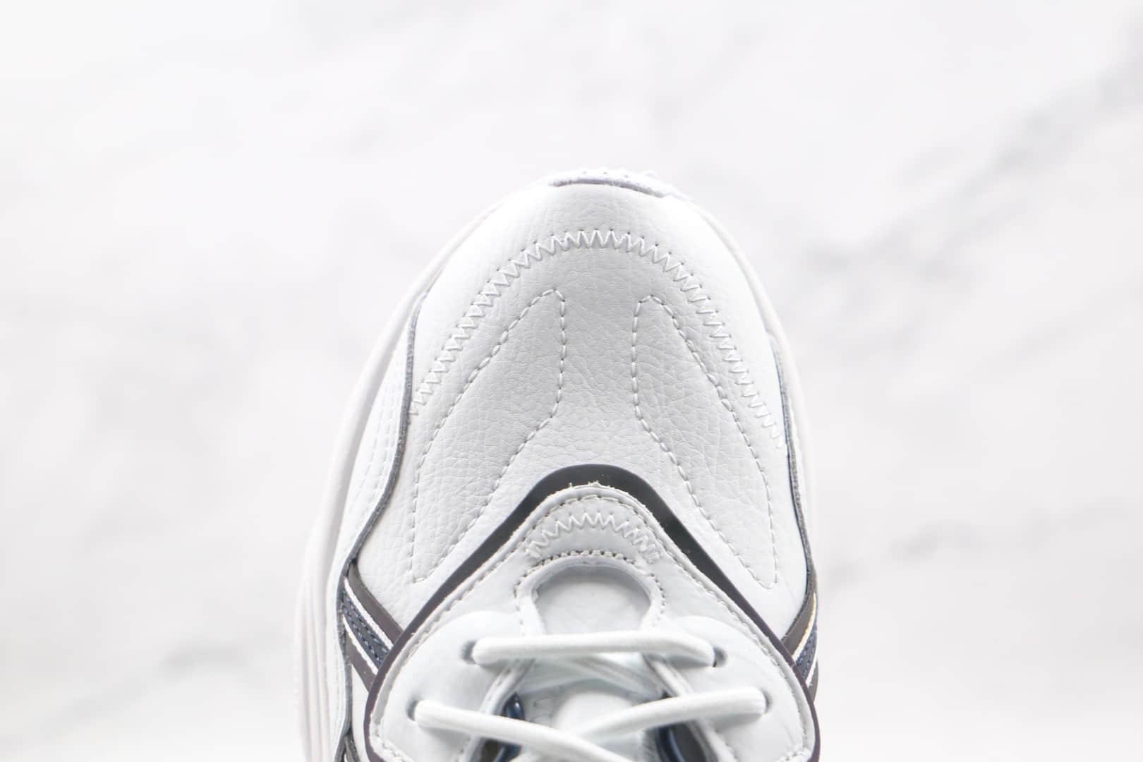 阿迪达斯Adidas Ozweego 2021纯原版本复古水管皮面镭射紫反光白紫老爹鞋原楦头纸板打造 货号:FZ0037