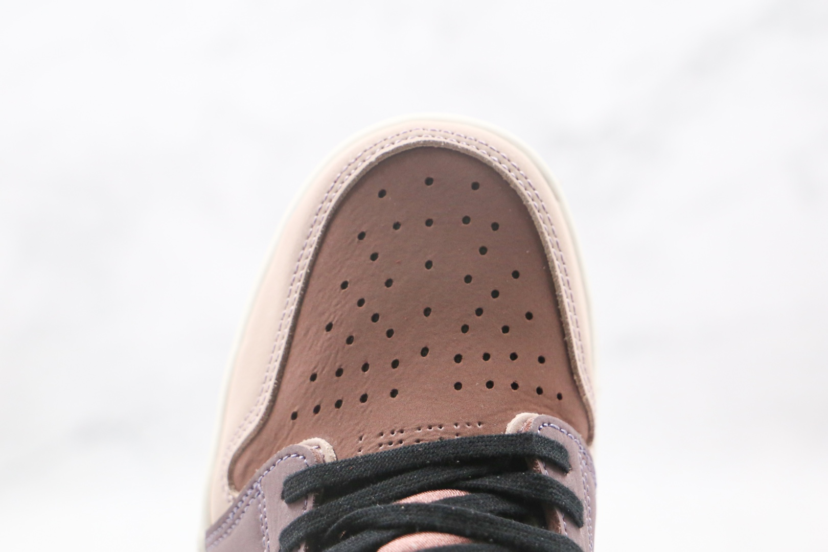 乔丹Air Jordan 1 Zoom Air CMFT纯原版本高帮AJ1脏粉板鞋原档案数据开发原盒原标 货号:CT0979-601