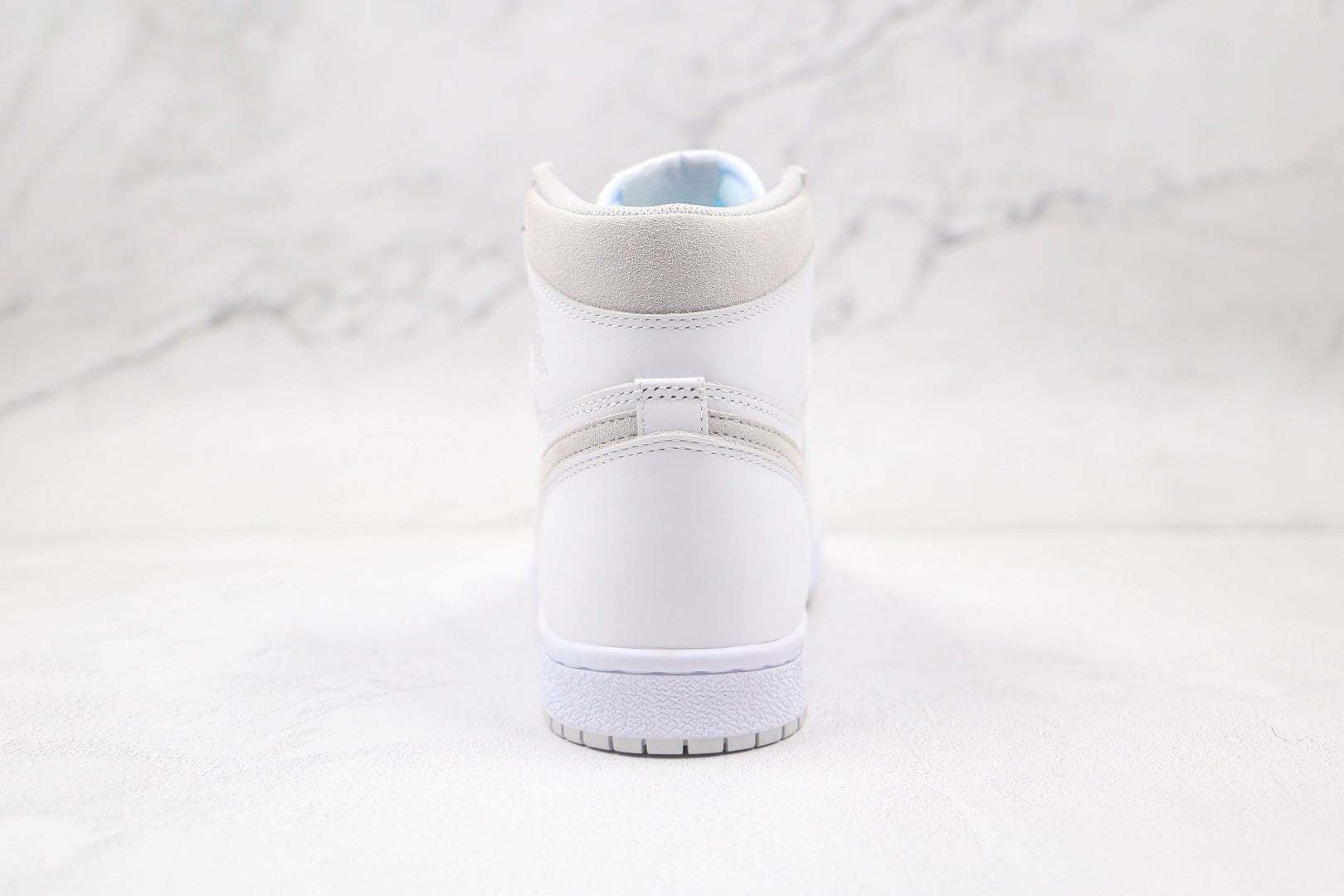 乔丹Air Jordan 1 High 85 Neutral Grey纯原版本高帮AJ1白灰配色板鞋原档案数据开发 货号:BQ4422-100