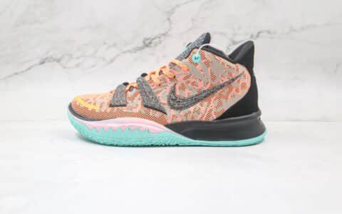 耐克Nike Kyrie 7 EP纯原版本欧文7代全明星实战篮球鞋内置气垫原楦头纸板打造 货号:DD1447-800