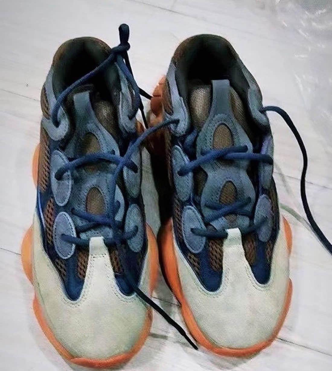 侃爷爱上赛博朋克风格了?Yeezy 500老爹鞋新配色你打几分?