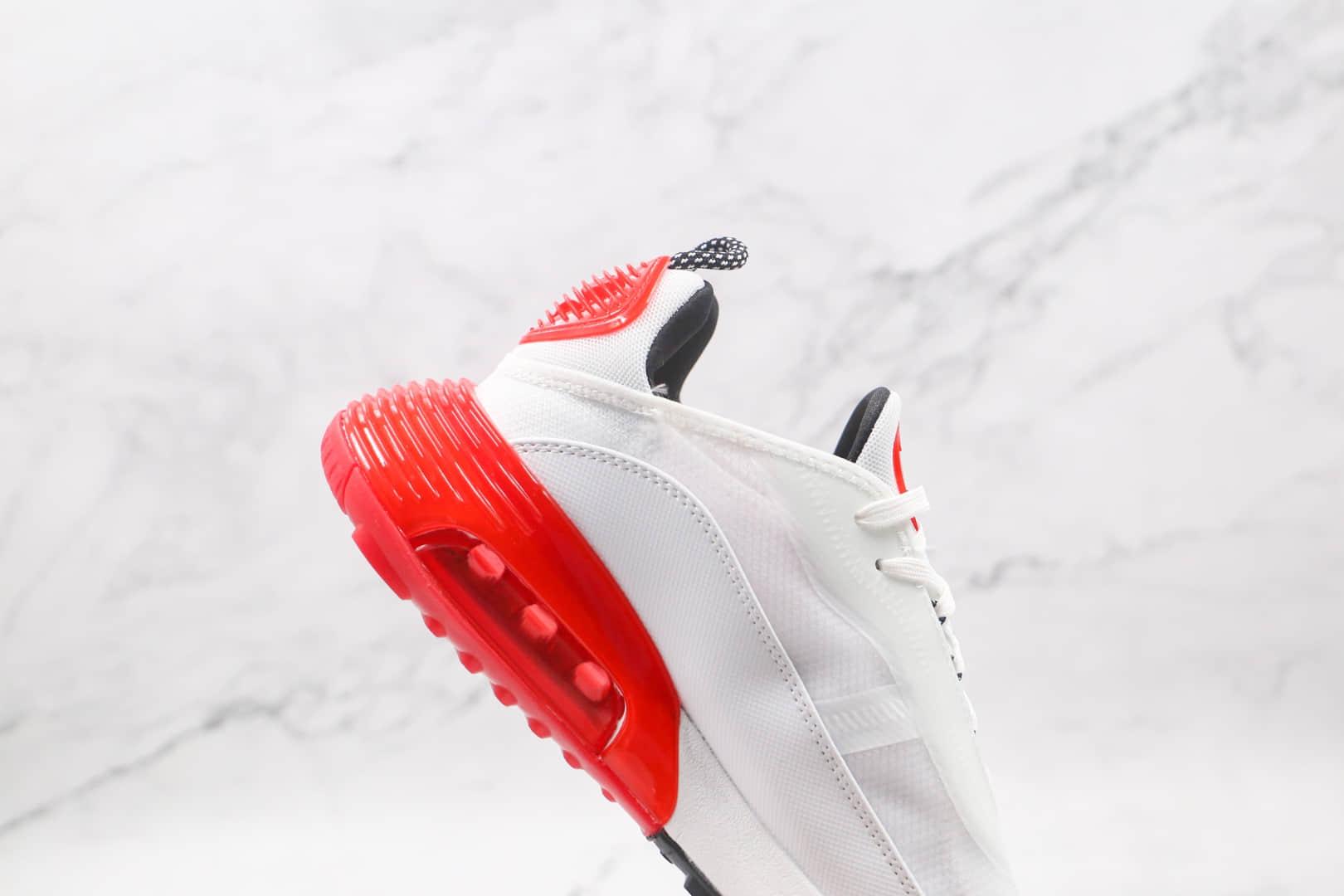 耐克Nike Air Max 2090纯原版本白红色Max2090气垫鞋原档案数据开发原盒原标 货号:DC9180-106