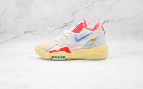 乔丹Air Jordan Delta React Mid Off Noir x Union LA联名款纯原版本Jordan Zoom 92灰蓝红黄篮球鞋原楦头纸板打造 货号:CK9183-800