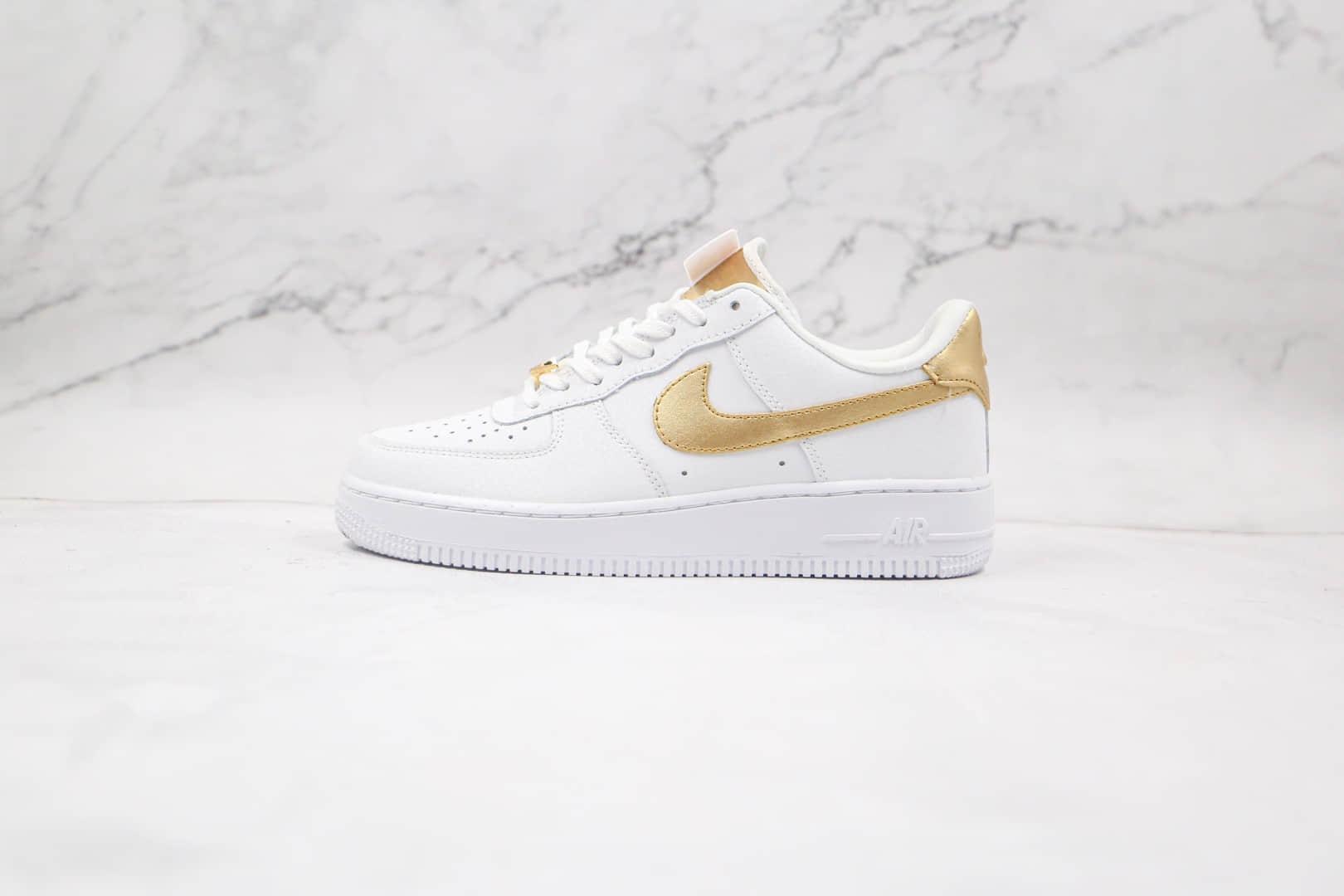 耐克Nike Air Force 1 Low纯原版本低帮空军一号白金配色板鞋原档案数据开发 货号:DC2181-100