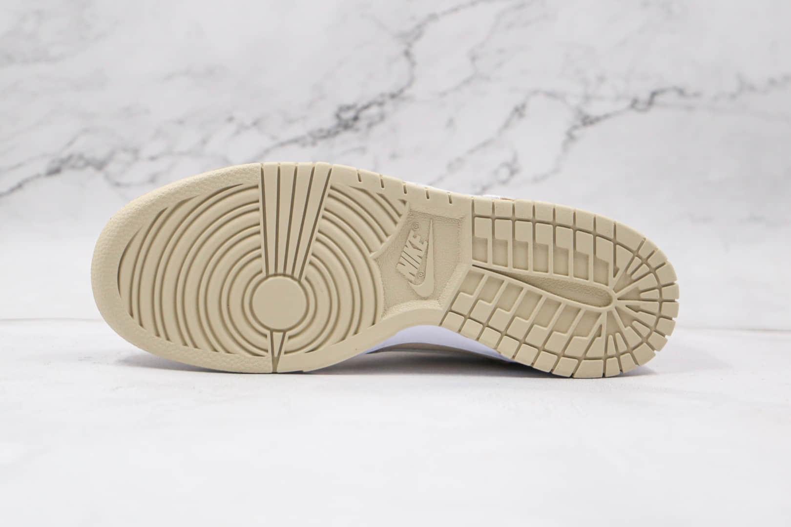 耐克NIKE DUNK SB LOW PRO SB纯原版本低帮SB DUNK麦芽酒白黄色板鞋内置Zoom气垫 货号:DH7913-002